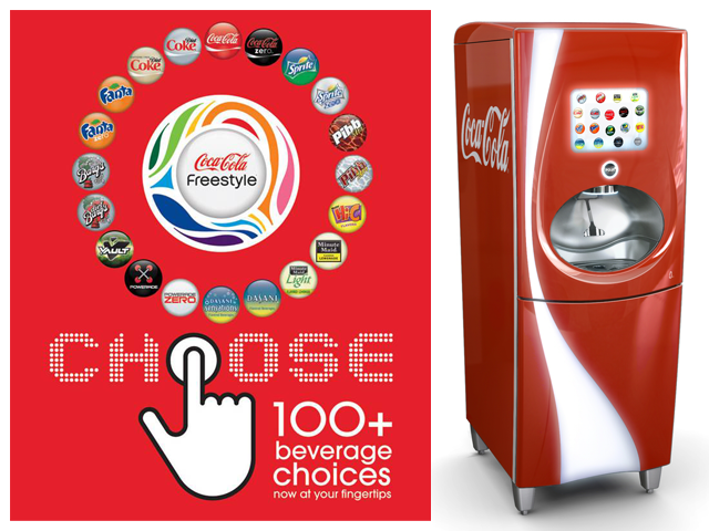 freestyle coke machine flavors