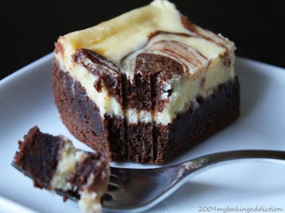 cheesecake brownies... - My Baking Addiction