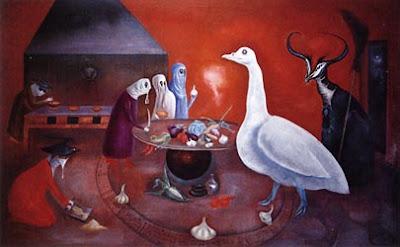 Leonora Carrington: Grandmother Moorhead's Aromatic Kitchen, 1975