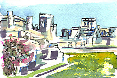 Koi Watercolors™ Pocket Field Sketch box, Tulum