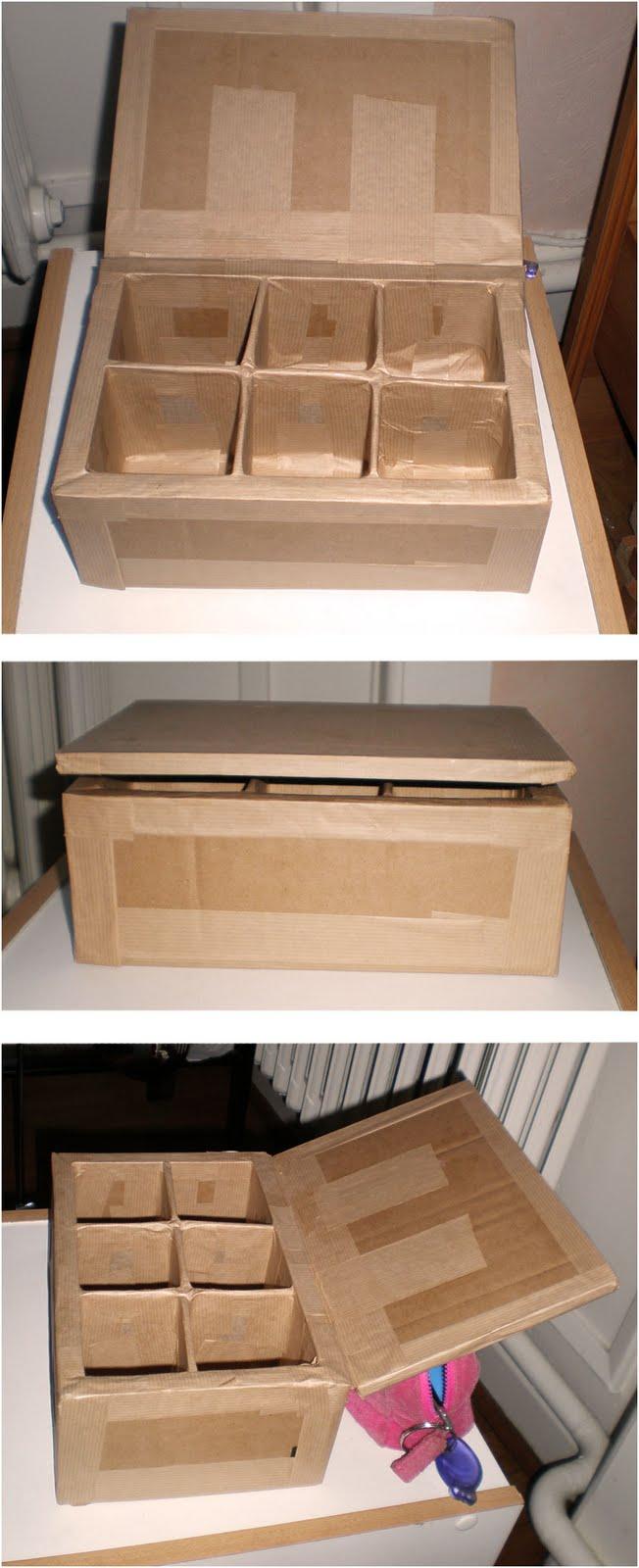 N nuphare premier pas en dessin bo te th en carton - Boite en carton a decorer pas cher ...