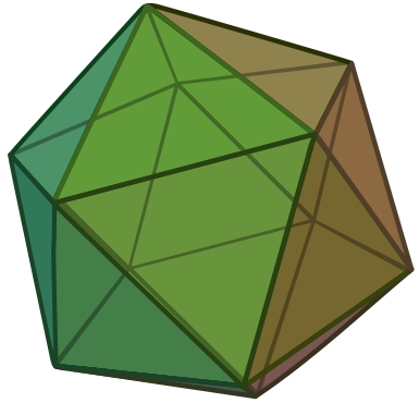Mathematical Icosahedron