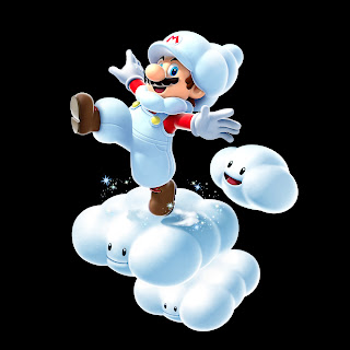 Mario Galaxt 2 Super Mario on 3D Clouds HD Wallpaper