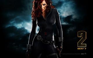 Iron Man 2 Scarlett Johansson as Black Widow HD Wallpaper