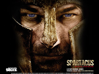 Andy Whitfield from Spartacus HD Desktop Wallpaper