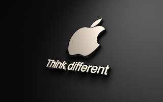 Apple 3D Dark Logo HD Wallpaper