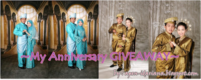 ApenIdariana Anniversary GIVEAWAY