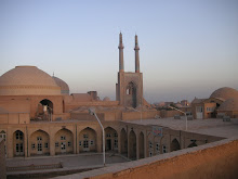 Yazd, Dawn, city centre, 2007