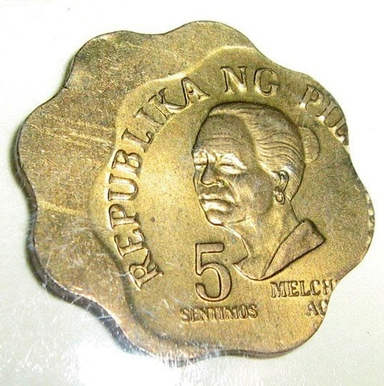 Philippine Money - Peso Coins and Banknotes: 5 Centavo ...