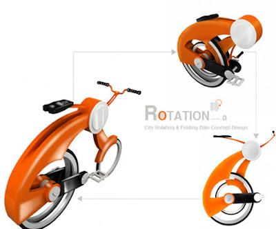 Sepeda Lipat Rotasi
