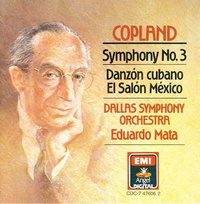 Fanfare for aaron copland eduardo mata dallas symphony for Aaron copland el salon mexico