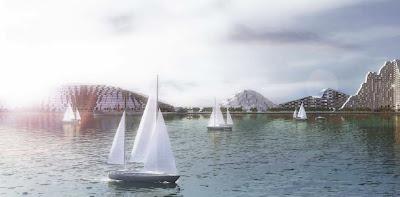 Urbanizacion desde el mar