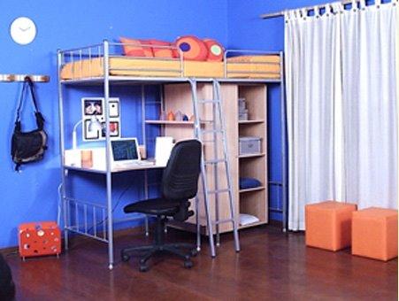 Arquitectura de casas dormitorios juveniles modernos for Recamaras con escritorio