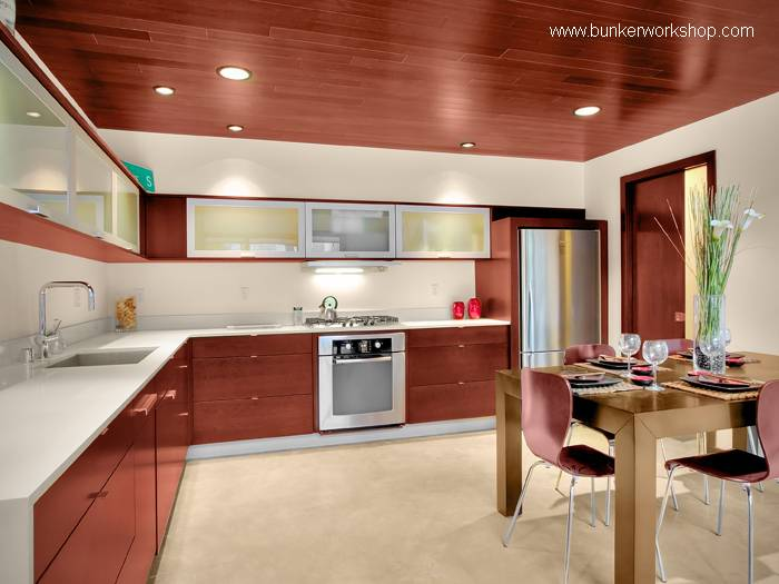 Arquitectura de casas muebles de cocinas modernas for Muebles para cocina en l
