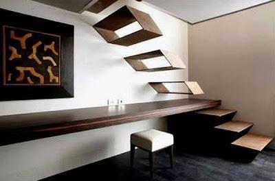 Escalera contemporánea de diseño original