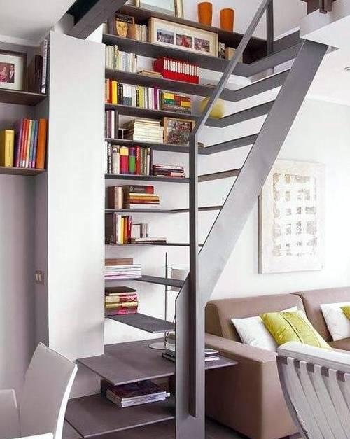 Arquitectura de casas 13 escaleras interiores de dise o y - Escaleras para bibliotecas ...