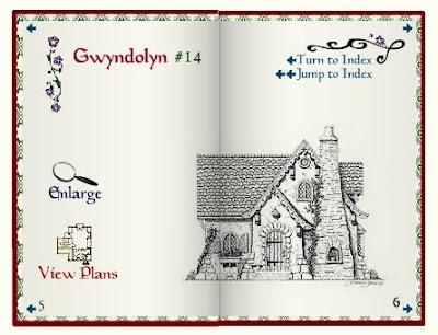 Casa de libro de cuentos