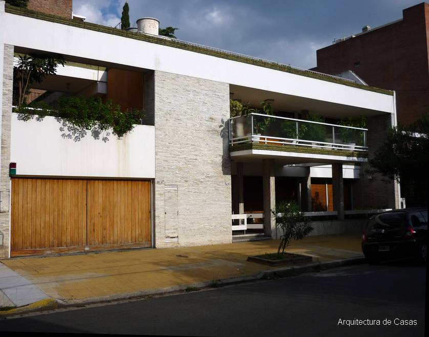fachada moderna casa amplia residencial - Fachadas Modernas De Casas
