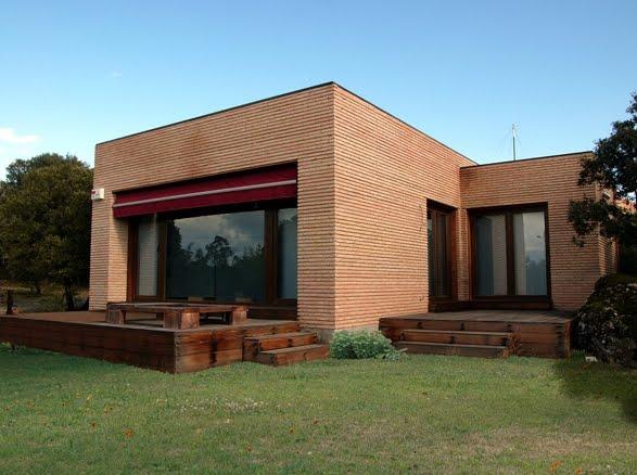 Arquitectura de casas fotograf as de casas prefabricadas - Techos modulares ...