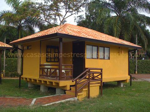 Arquitectura de casas fotograf as de casas prefabricadas - Casas madera economicas ...