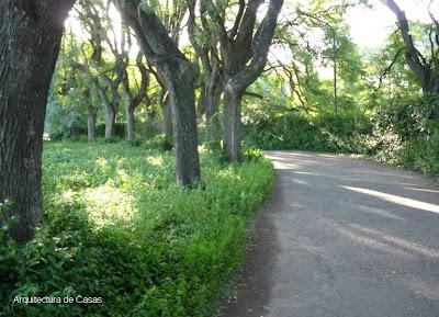 Parque de la Agronomía en la Ciudad de Buenos Aires