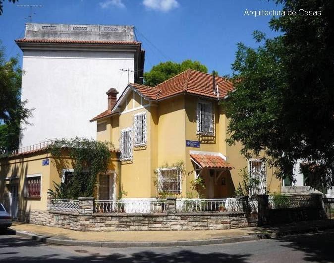 Arquitectura de casas casa chalet en buenos aires for Casa chalet