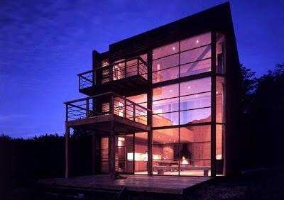 Mansi n holandesa en bogot moderna casa cubo de madera for Casa mansion bogota