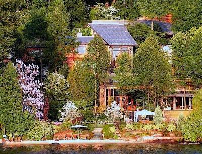 Casa de famoso propiedad de Bill Gates en Seattle