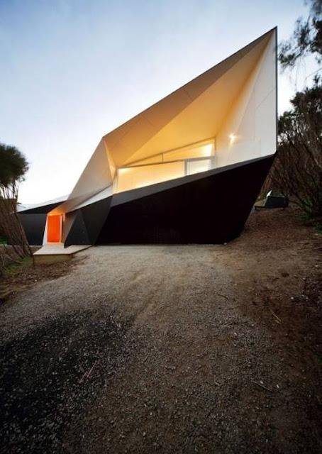 Residencia australiana de diseño original en espiral