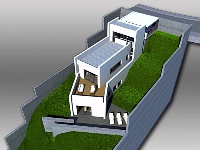 Arquitectura de casas proyectos de casas en desniveles en - Proyectos de casas ...