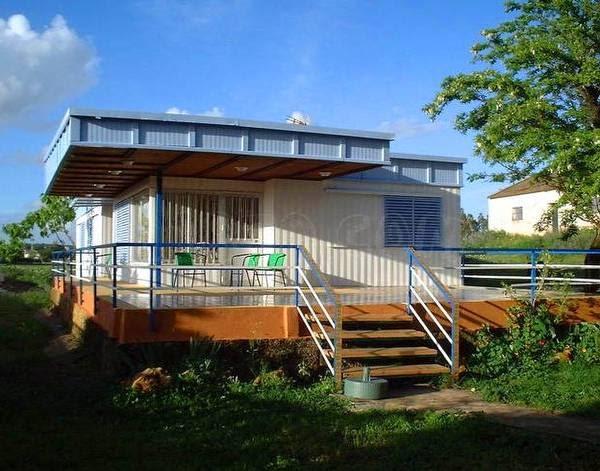 Arquitectura de casas casa moderna vacacional econ mica for Casa moderna economica