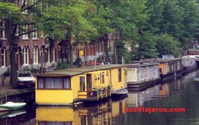 Casas flotantes en Holanda