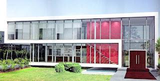 Casa residencial contemporánea estilo Minimalista