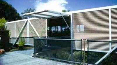 Casa Clarke residencia con forma de puente en Queensland, Australia