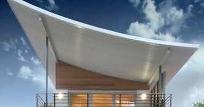 Arquitectura de casas casa con techos curvos - Arquitectura de casas ...