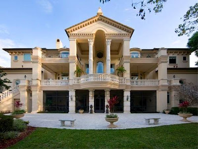 Arquitectura de casas mansi n estilo barroco italiano en - Fachadas clasicas ...