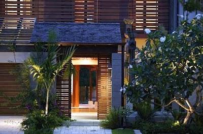 Casa balinesa moderna construida en Australia