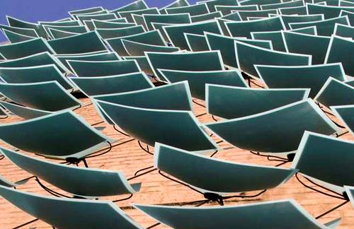 Hojas fotovoltaicas