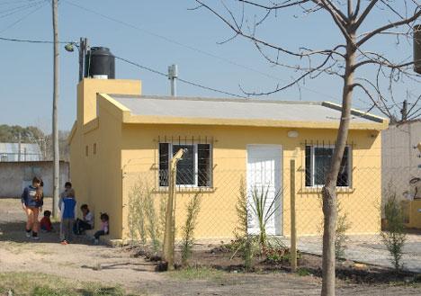 Casas económicas bioclimáticas.
