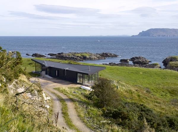 Arquitectura de casas casa caba a frente al mar en irlanda - Apartamentos en irlanda ...