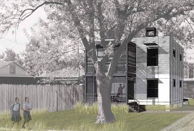 Arquitectura de casas casa econ mica de d lares en for Casa minimalista economica