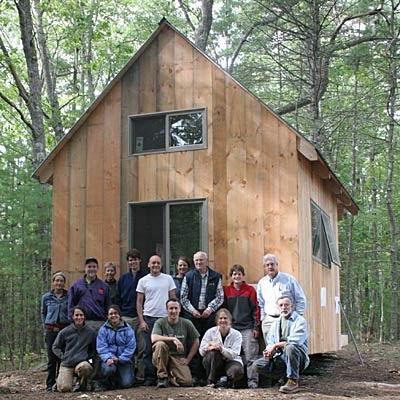 Arquitectura de casas c mo construir una caba a en un d a - Como hacer una cabana de madera ...
