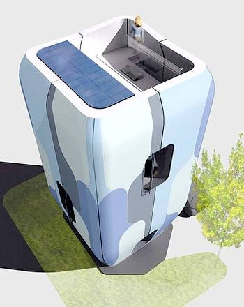 Arquitectura de casas viviendas prefabricadas futuristas for Arquitectura ergonomica