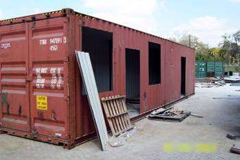 Arquitectura de casas contenedores reciclados a modernas - Casas hechas con contenedores precios ...