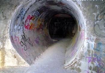 Estructura con forma de tubos levantada en México