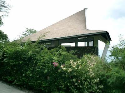Arquitectura Tropical en Laos, Tailandia, casa residencial