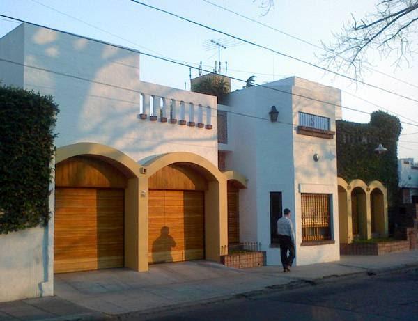 Arquitectura de casas casa contempor nea estilo hisp nico - Estilo arquitectura contemporaneo ...