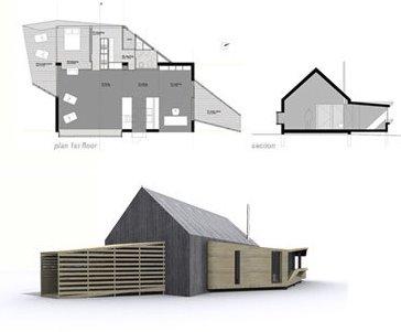 Proyecto de casa campestre en Portugal