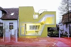 Diseño de casa contemporánea en Austria