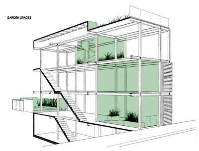 Dibujo de la casa